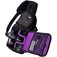 Qipi Camera Bag - Sling Style Camera Backpack with Padded...
