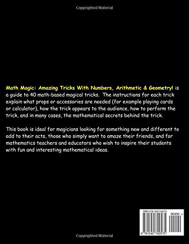 Math Magic: Amazing Tricks With Numbers, Arithmetic
