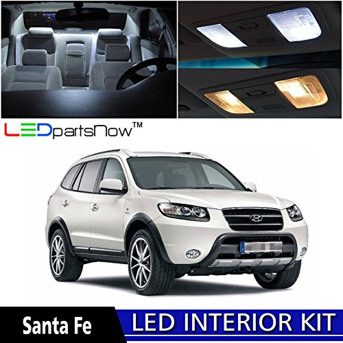 Ledpartsnow 2013 2018 Hyundai Santa Fe Led Interior Lights