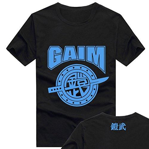 Kamen Rider Gaim Logo Tshirt Masked Rider Adult