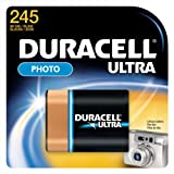 Duracell Ultra 245 Photo Lithium Battery 2CR5