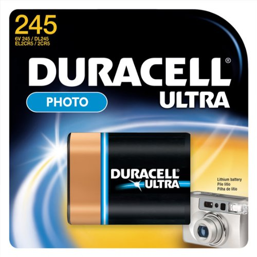 Duracell DL245 Photo Lithium Battery Replacement