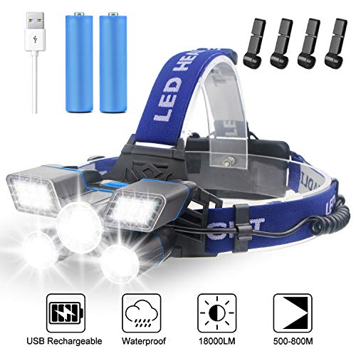See the TOP 10 Best<br>Headlamp Flashlights With Red Lights