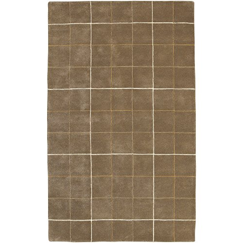 Surya Goa G-64 Transitional Hand Tufted 100% New Zealand Wool Mocha 3'3