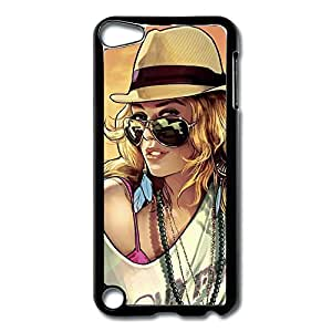 IPod Touch 5 Cases Beauty Woman Design Hard Back Cover Cases Desgined By RRG2G