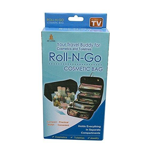 Zeeteck Roll N Go Travel Cosmetic Bags