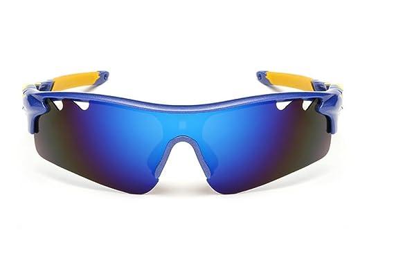 HUWQX All'aperto ciclismo occhiali da sole, Occhiali moto, 3