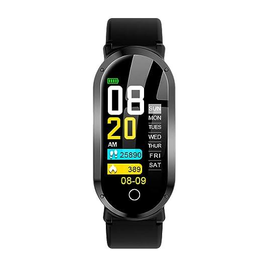Hemobllo T1 Bluetooth Fitness Tracker Sport Smartwatch con ...