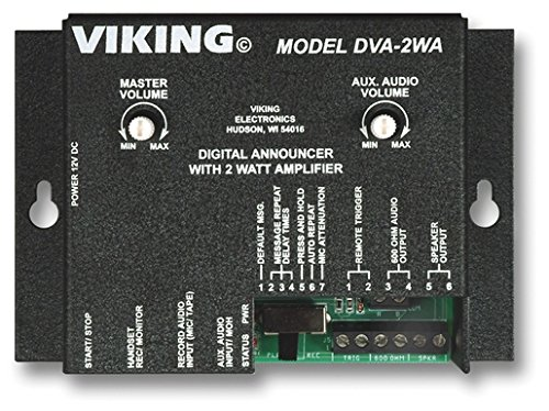 Viking DVA-2WA Digital Announcer/Recorder with Amplifier