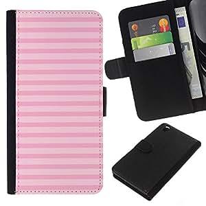 KingStore / Leather Etui en cuir / HTC DESIRE 816 / Motif Horizontal Rose
