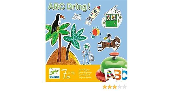Djeco - Juego ABC dring: Amazon.es: Juguetes y juegos