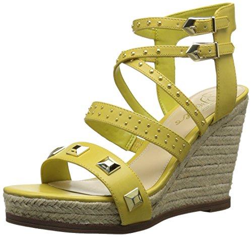 Fergie - Sandalias de vestir para mujer amarillo