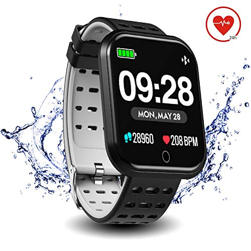 Surpro Smart Watch Heart Rate Monitor, 1.3