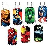 NEW Avenger Marvel SuperHero Dog Tag 10 count