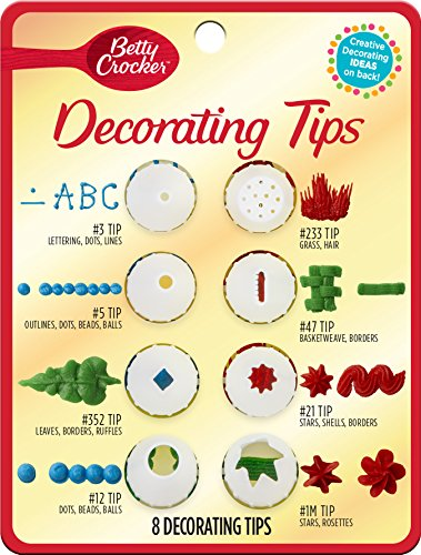 Betty Crocker Decorating Tips Variety Pack