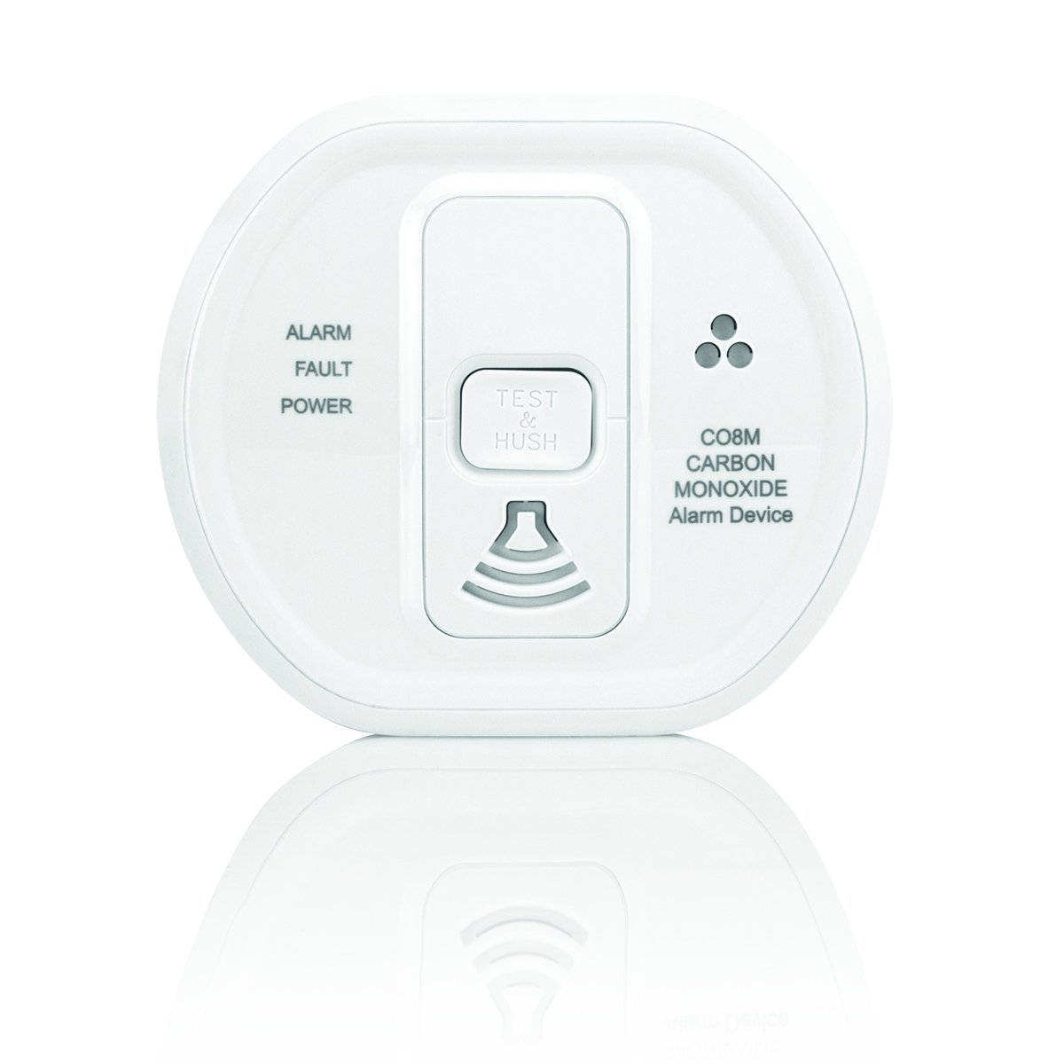 Honeywell SI800MS Wireless Siren Blanco - Sirena (Wireless Siren, 120 dB, IP30, Blanco, Litio, CR123)