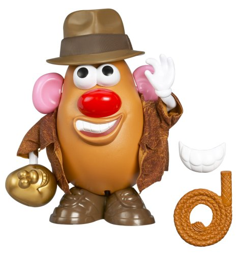 Playskool Mr. Potato Head Indiana Jones Taters of The Lost Ark, Idaho Jones -