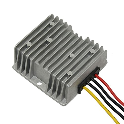 Use Voltage Regulators (RecPro Universal GOLF CART Voltage Reducer Converter Regulator 36V-48V To 12V 20 Amp)