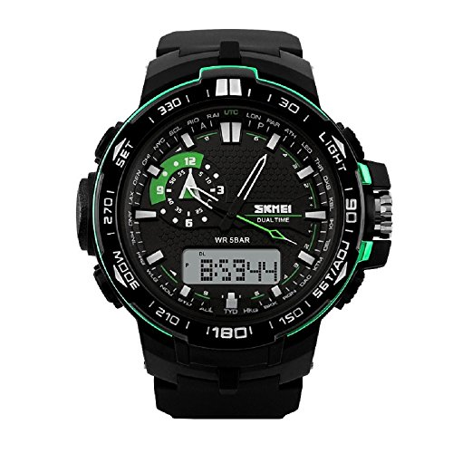 Relojes de Hombre 2018 Sport LED Digital Military Water Resistant Watch Digital Men De Hombre Para Caballero RE0021