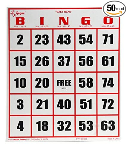 Image result for bingo cards