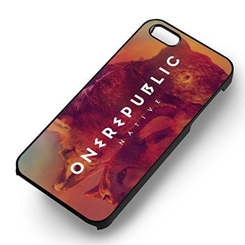 One Republic Native pour Coque Iphone 6 et Coque Iphone 6s Case (Noir Boîtier en plastique dur) N4B1XH