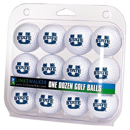 NCAA Utah State Aggies - Dozen Golf Balls