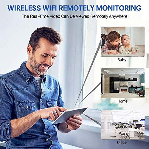 Mini Camera mini wifi camera small wireless camera 1080P HD audio camera with 32G SD Card,mini home security camera Portable Tiny Nanny Cam with Night Vision Motion Detection for Car Indoor Outdoor