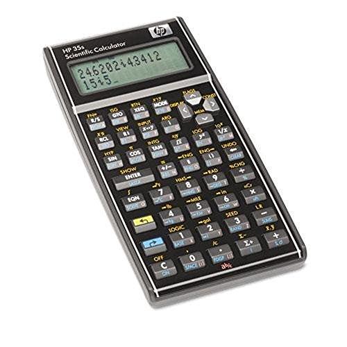 - HP 35S Programmable Scientific Calculator, 14-Digit LCD