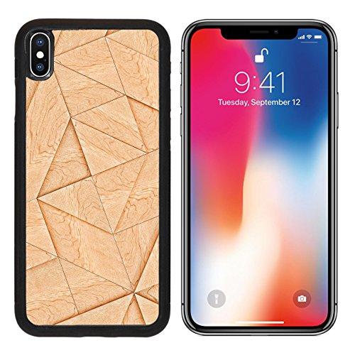 Tangram Floor (MSD Premium Apple iPhone X Aluminum Backplate Bumper Snap Case Abstract Wooden Striped Textured Of Tangram Parquet Image ID 24589414)