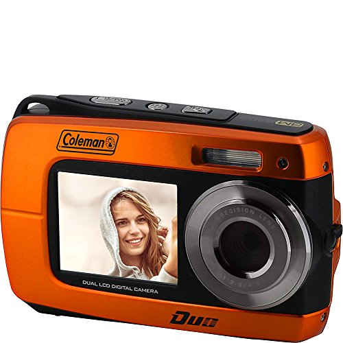 Coleman Duo2 2V8WP Dual Screen Shock & Waterproof Digital Camera (Green)