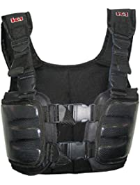 K1 Race Gear 70023020 Black Large Carbon Fiber Racing Rib Vest