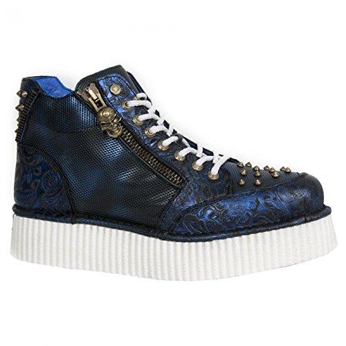 New Rock Boots M.crp002-s5 Punk Rampicante Unisex Sneeker Lila