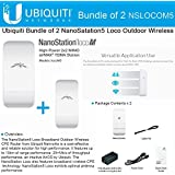 Ubiquiti Nanostation LOCO M5 Outdoor MIMO 11n 5GHz. locoM5 (2 pack)