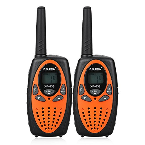 FLOUREON Walkie Talkies for Kids 2PCS Children 2-Way Radio Toys with Long...