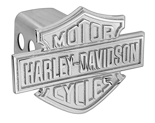 - Harley-Davidson Trailer Hitch Cover Plug 3D Bar & Shield Logo 2-Inch Post HDHC13