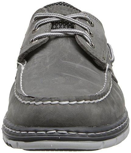 O Chaussures A Sperry Gris noir Hommes 2 eye Top sider qtqRI