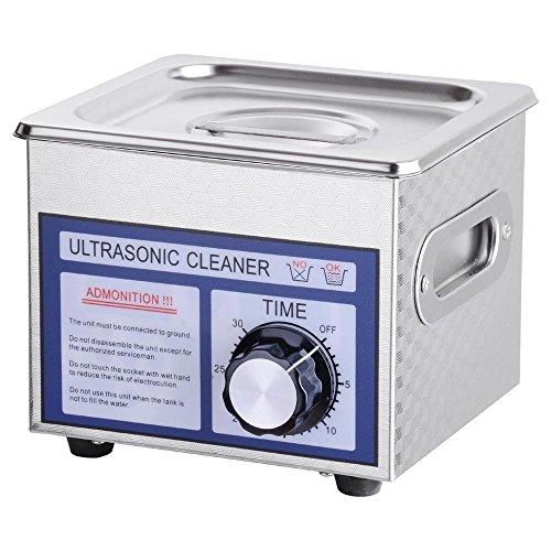 Stainless Steel 60W 1.3L Liter Industry Digital Ultrasonic Cleaner w/Timer 110V