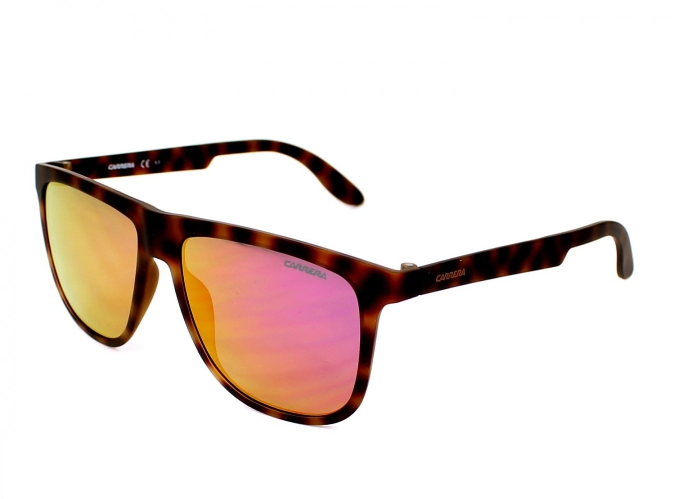 Carrera 5003/ST/S Sunglasses CA5003ST-0KRX-VQ-5716 - Havana Frame, Multilayer Pink Lenses,
