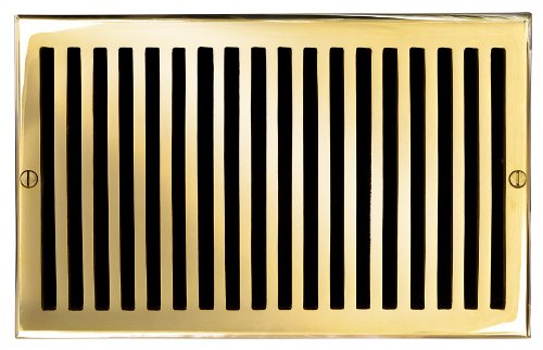 Polished Brass Air Return - 2