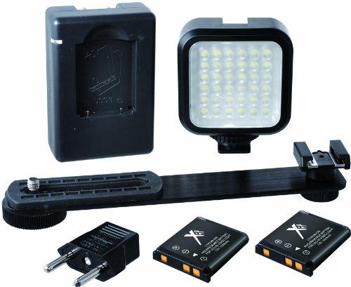 Xit XTLEDKIT Mini Portable LED Light Kit (Black)