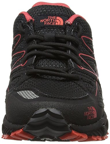 The North Face Storm Ms, Botas de Senderismo para Mujer Varios colores (Phantom Grey / Cayenne Red)