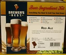 Red Ale Homebrew Beer Ingredient Kit by Brewer\'s Best