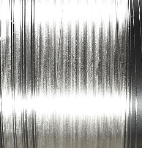uGems 30 Gauge .999 Fine Silver Round Wire Very Thin 0.010
