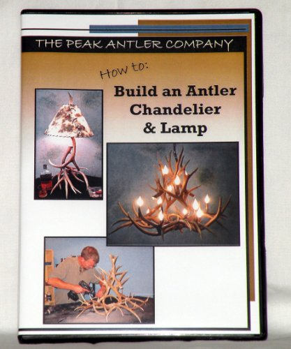 How To: Build an Antler Chandelier and ()