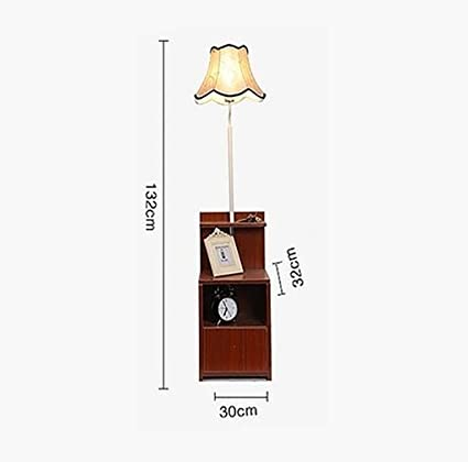 Lámparas de pie lámpara de pie, escritorio de 3 pisos, luz ...