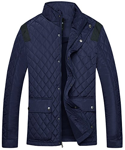 Quilted Snap Front Jacket - 6