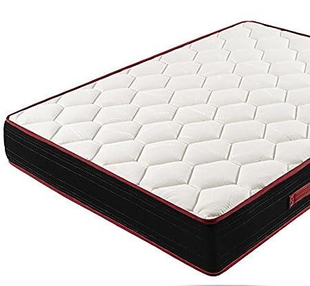 Colchón Viscoelástico Memory Fresh 3D + Base Tapizada Con Patas De 26cm + Almohada 100% Viscoelástica, 105x180cm: Amazon.es: Juguetes y juegos