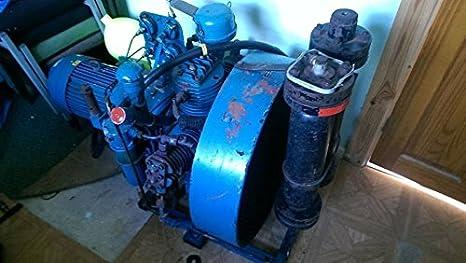Compresor de aire de buceo 232 BAR 3 PHASE respirando aire compresor con fusta de buceo: Amazon.es: Hogar