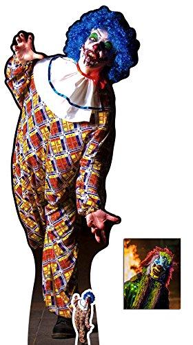 Fan Pack - Scary Male Killer Clown Halloween