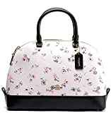 Coach Sierra Printed Coated Canvas Satchel
